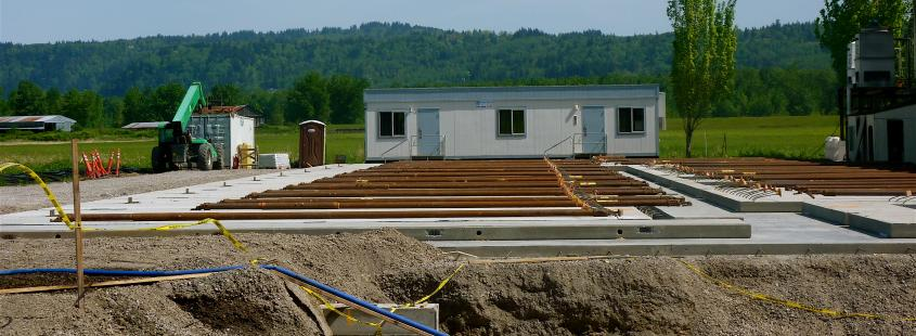 New Building Foundation
