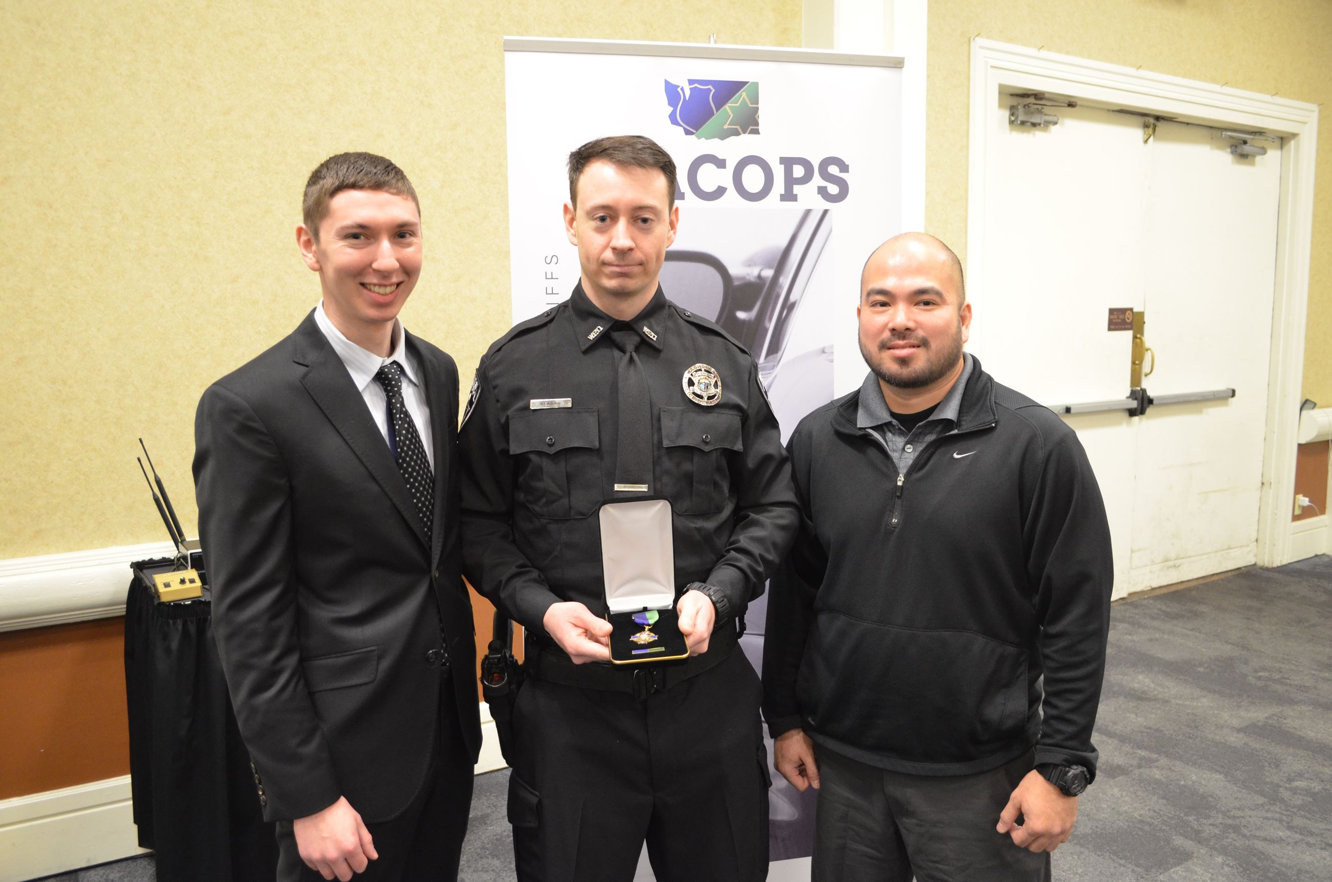 Officer of the Year Award Photo