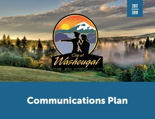 City of Washougal Communications Plan (PDF) Opens in new window