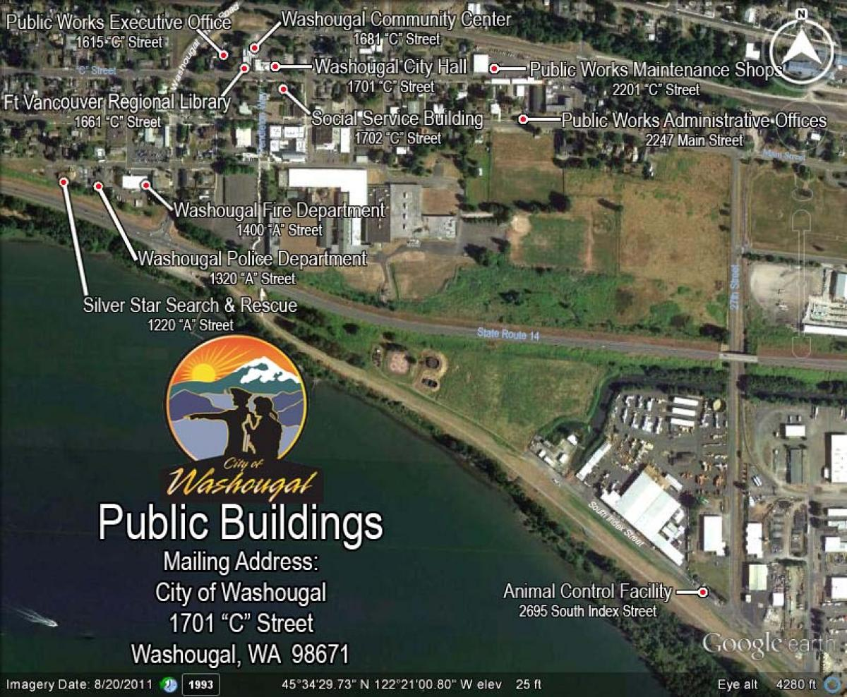Public Buildings City Map