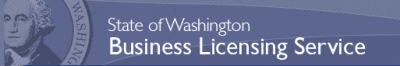 State of Washington Business Licensing Service