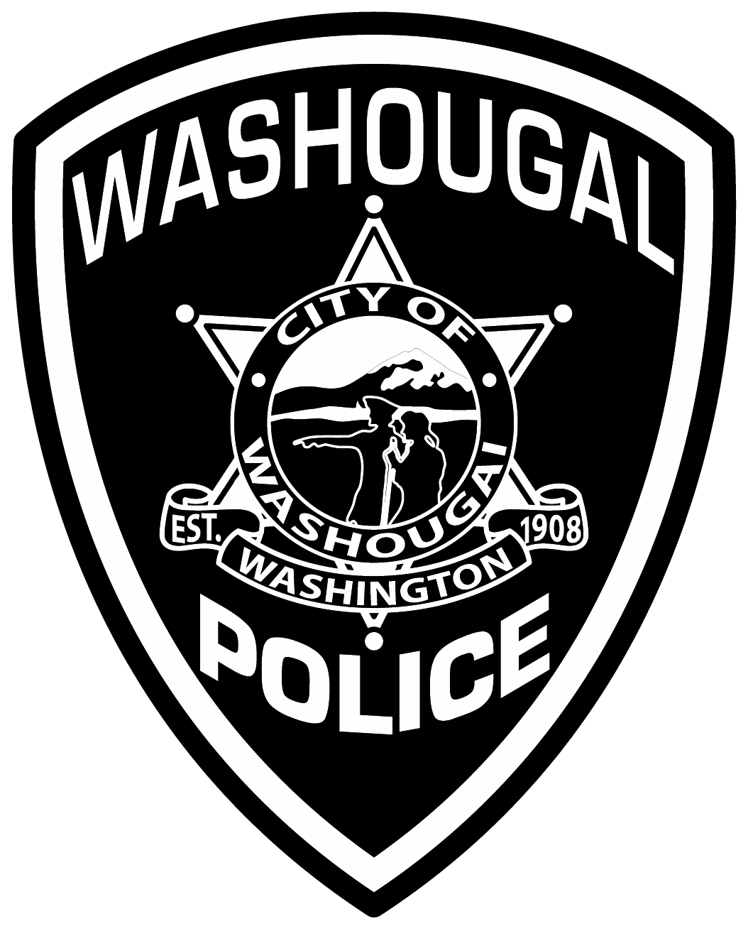 Washougal Police Department Badge