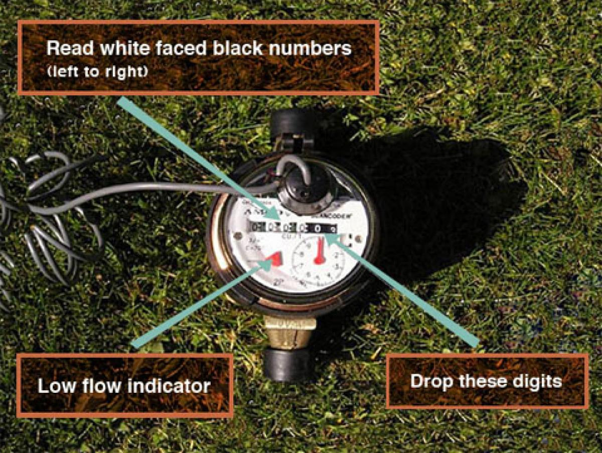 Water Meter and Flow Indicator