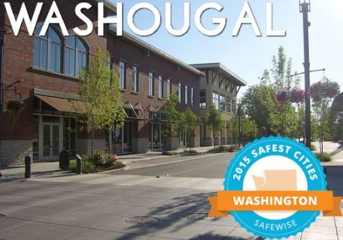 Washougal - 2015 Safest Cities - Safewise