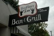 Big Foot Inn Bar and Grill sign